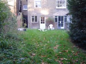 London Garden Design Before Shot 2