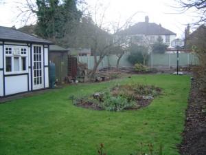 Garden Design Essex Before Shot 2