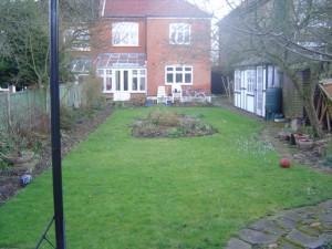 Garden Design Essex Before Shot 1