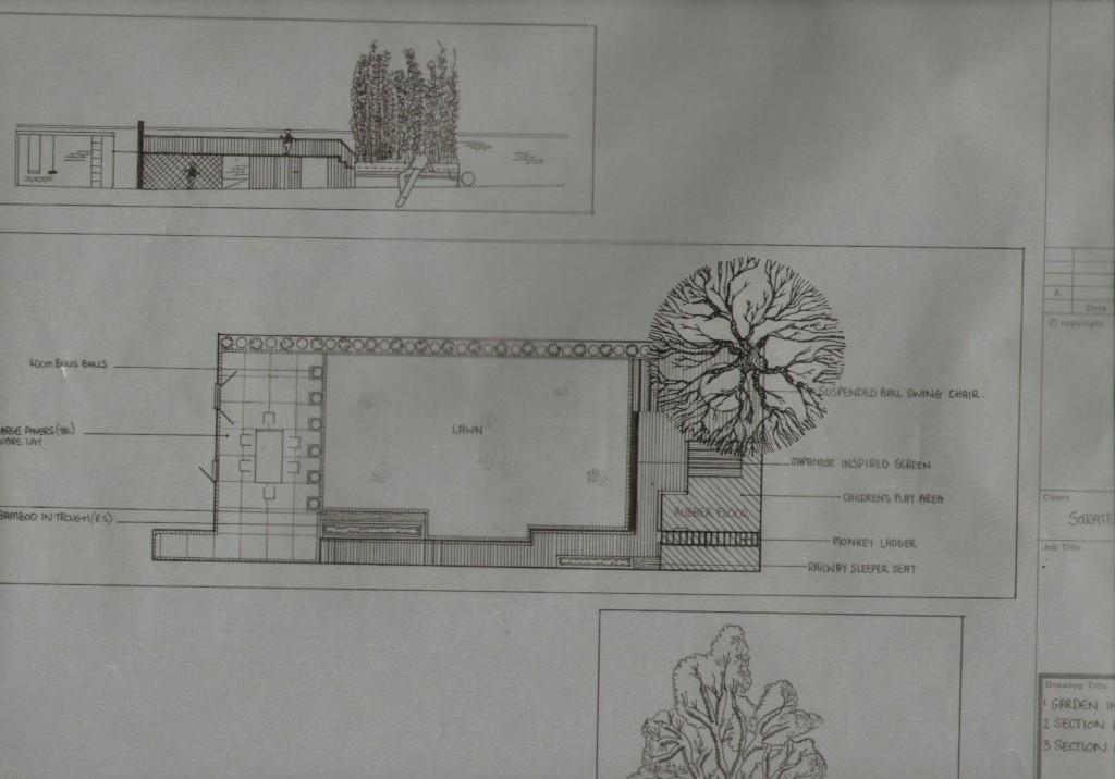 London Garden Design Hackney Plan