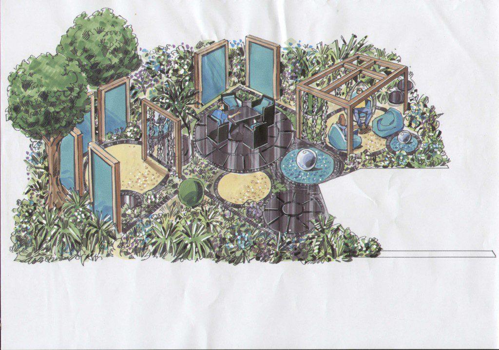 Essex Garden Design Perspective Visual