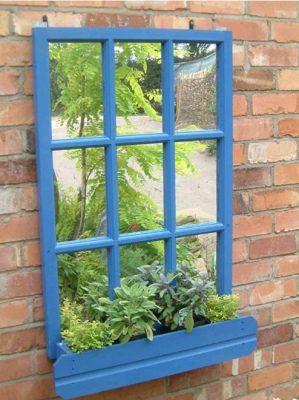 Garden Mirror - Window Box