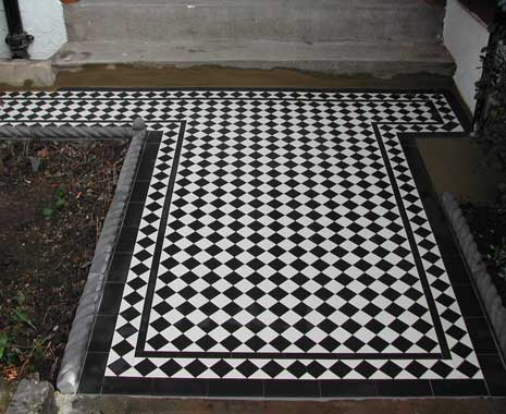 Renovated Victorian Tiled Pathway