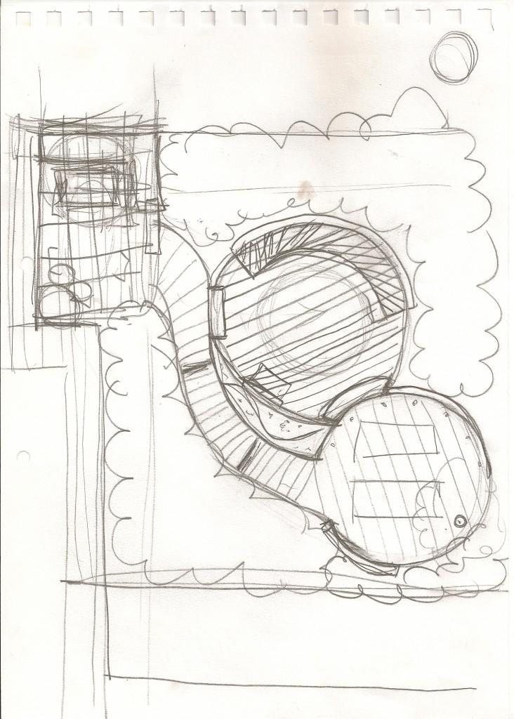 Garden Design Manchester Sketch