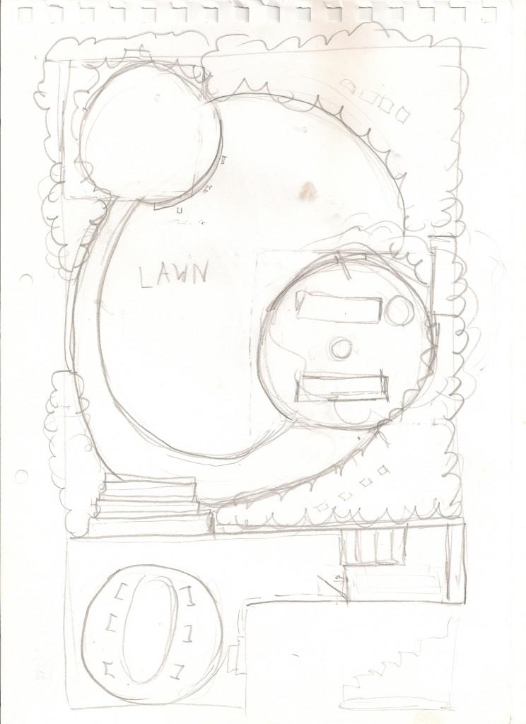 Garden Design South London Sketch