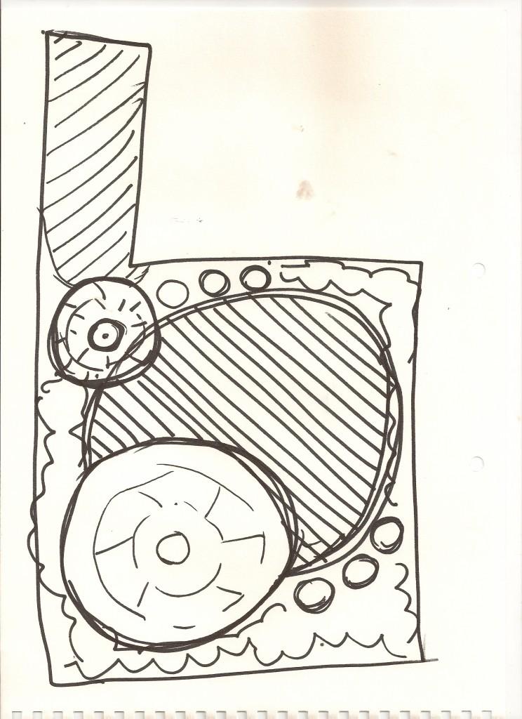 Leeds Garden Design Sketch