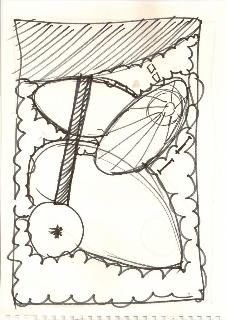 Garden Design Somerset Sketch