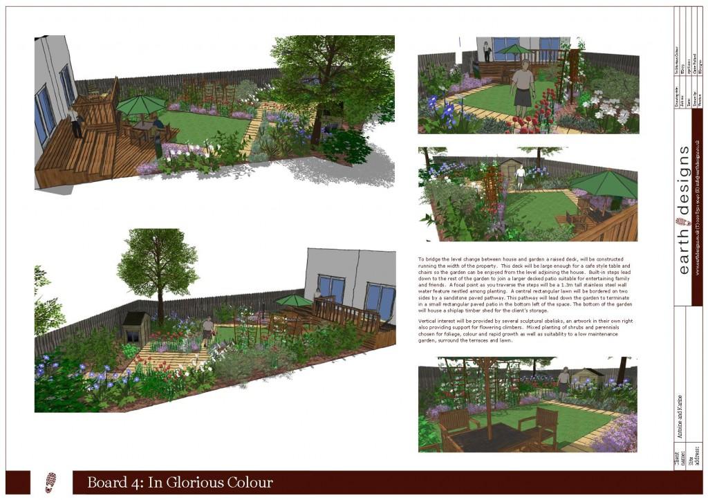 Garden Design London Kilburn Planting Visuals