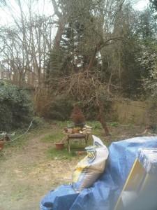London Garden Design Kilburn Before Shot 2