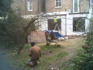 London Garden Design Kilburn Before Shot 1