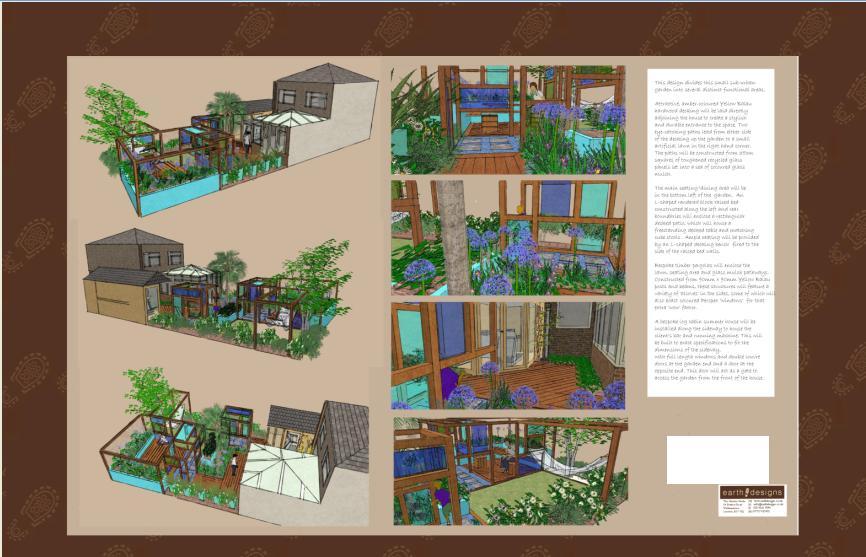London Garden Design: Visual Perspectives