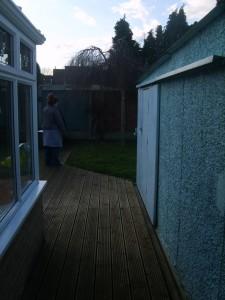 London Garden Design: Before Shot 3