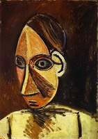Picasso, Head of a Woman