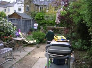 London garden in need of overhaul
