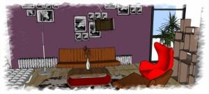 Romanian Interior Design - lounge area