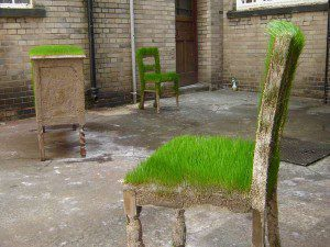 Ideas for garden design - Kevin Hunt Grass chairs