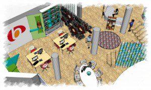 Romania interior design - Ground Floor overall visual