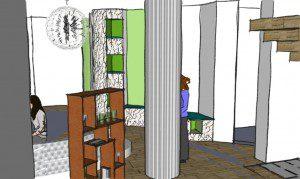 Romania Interior Design - Ground Floor reception 3