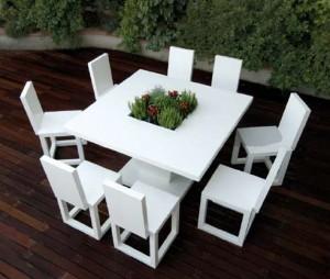 Unusual patio furniture for garden design
