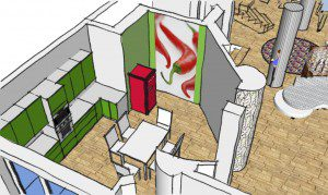 Romanian Interior Design - Ground Floor Kitchen visual 2