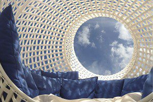 Garden furnishing - interior perspective of Sight by Tim Kerp