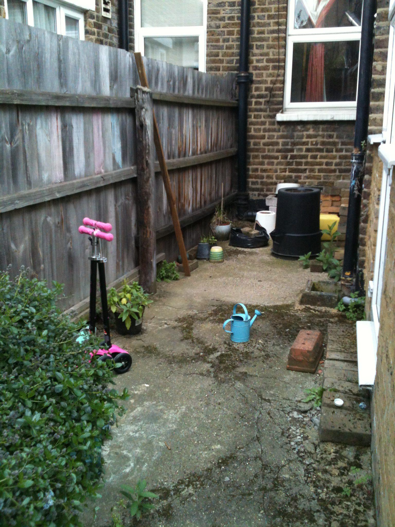 Small Garden Design on a budget - Walthamstow garden packs ... on Landscape Garden Designs For Small Gardens id=95493