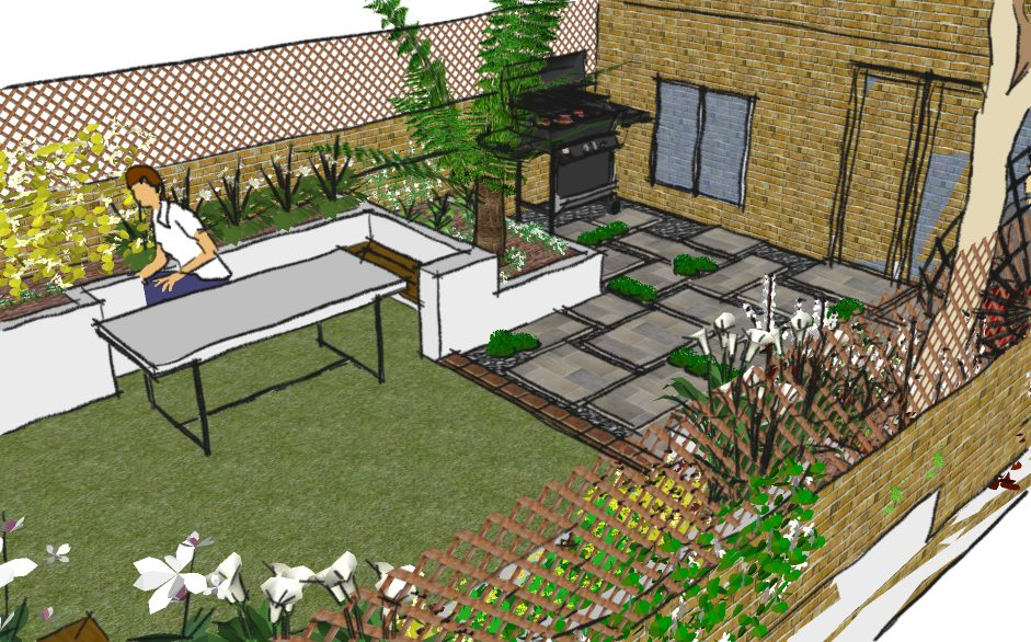 Hackney Garden Design Elegant Woodland Garden Earth