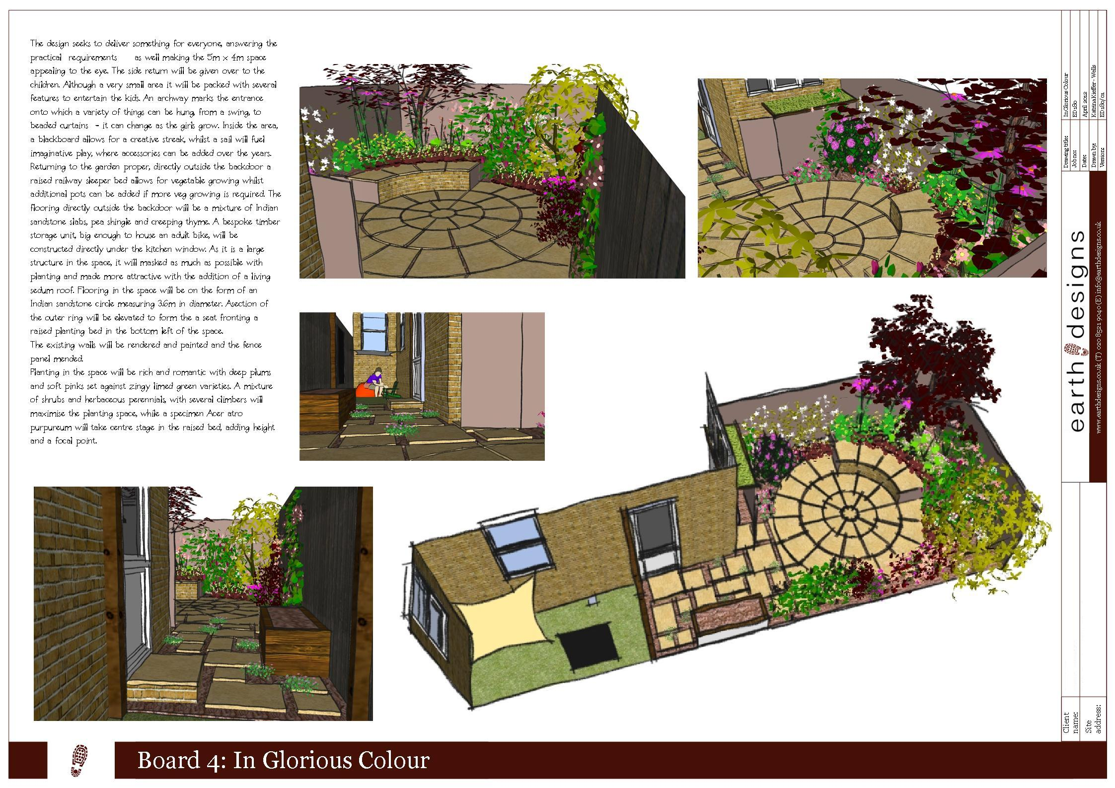 Small Garden Design on a budget - Walthamstow garden packs ...