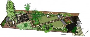 Japanese Garden Design - Garden Design North London