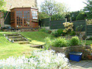 Garden Design by Post - Cheshire Garden