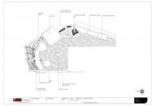 Garden Design in Essex 2D plan