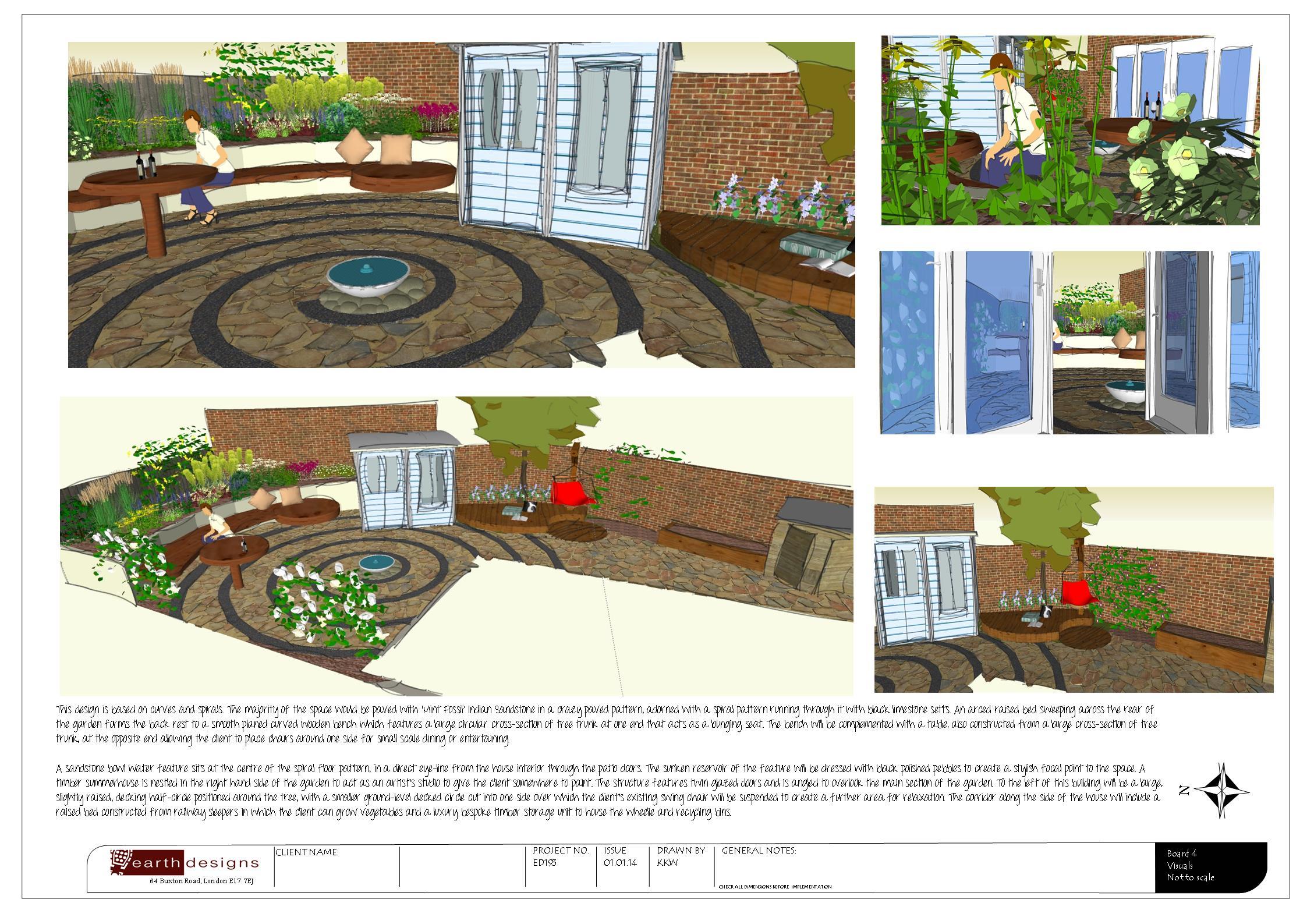 Garden Design in Essex: Garden of the Month January 2014