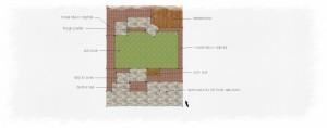 Cheshire Garden Postal Design - Option 3