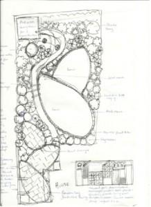 Westcliff garden design