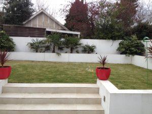 Woodford Garden Design before shot