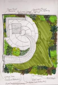 Curvy Garden Design