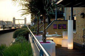 London Roof Garden design