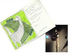 small family garden design idea