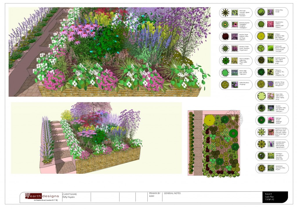 Garden Design Essex Planting Plan