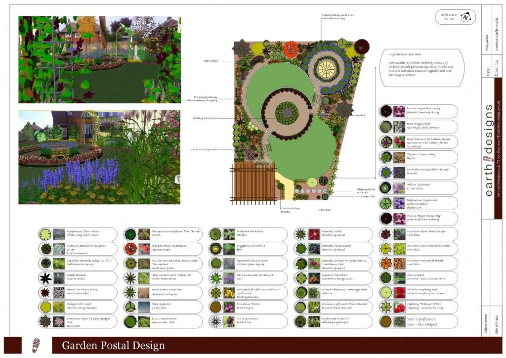 Garden Design Essex Postal Design 4