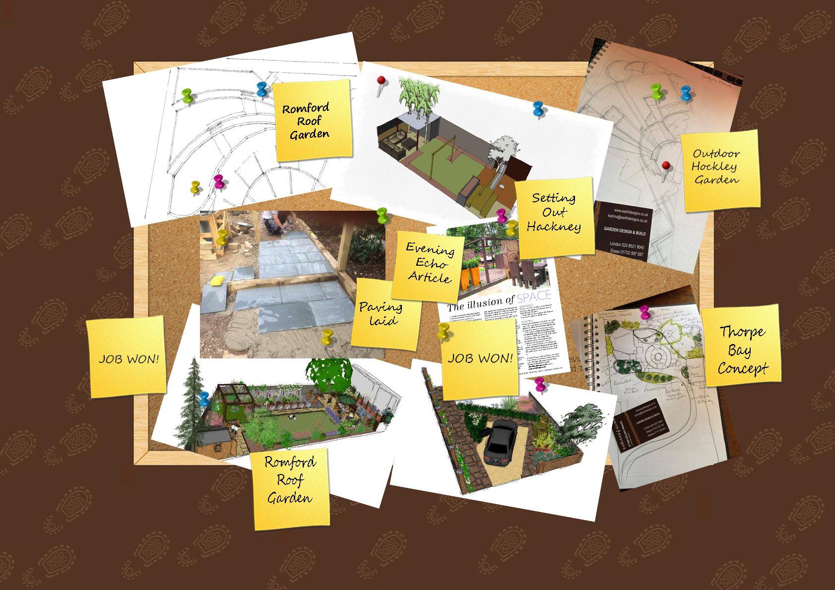 Essex Garden Design Diary WOTB wk38 2015