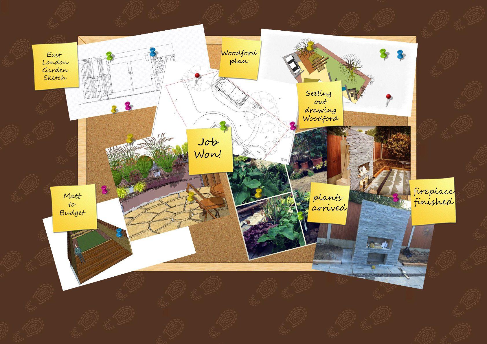 Essex Garden Design Diary WOTB wk42 2015