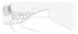 ED224 - Back Garden sketch 1