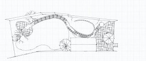 garden design with curves