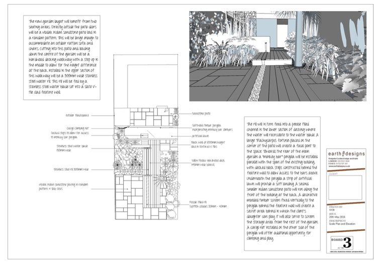 A scale plan of the space helps Jan visualise the space