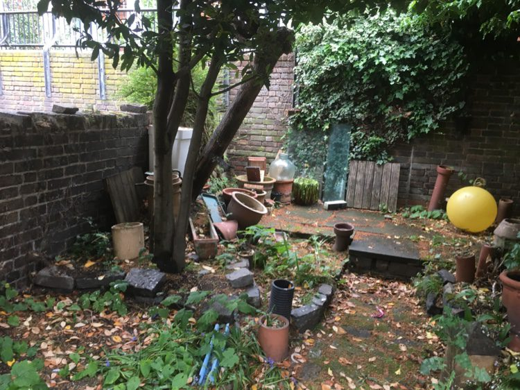 East London garden in need of a revamp