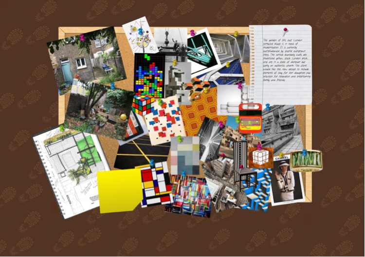 Inspiration comes from Tetris, Speak and Spell and Kandinsky.