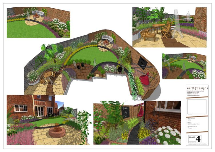 visuals show how the garden works from every angle