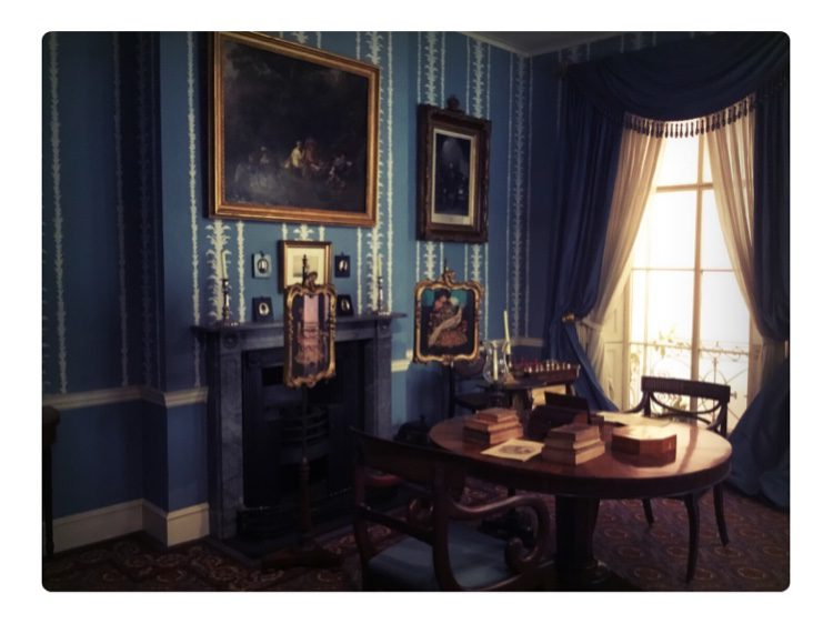 A drawing room from 1830