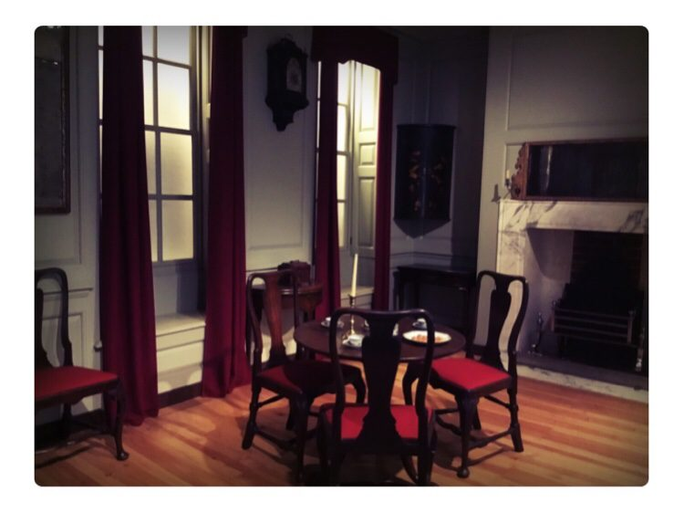 A parlour from 1745